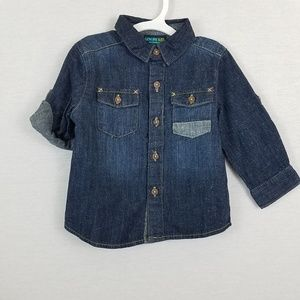Long Sleeve Denim Shirt Genuine Kids